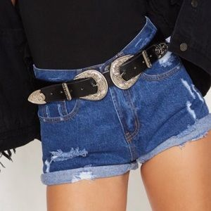 NWOT PLT \\ denim shorts